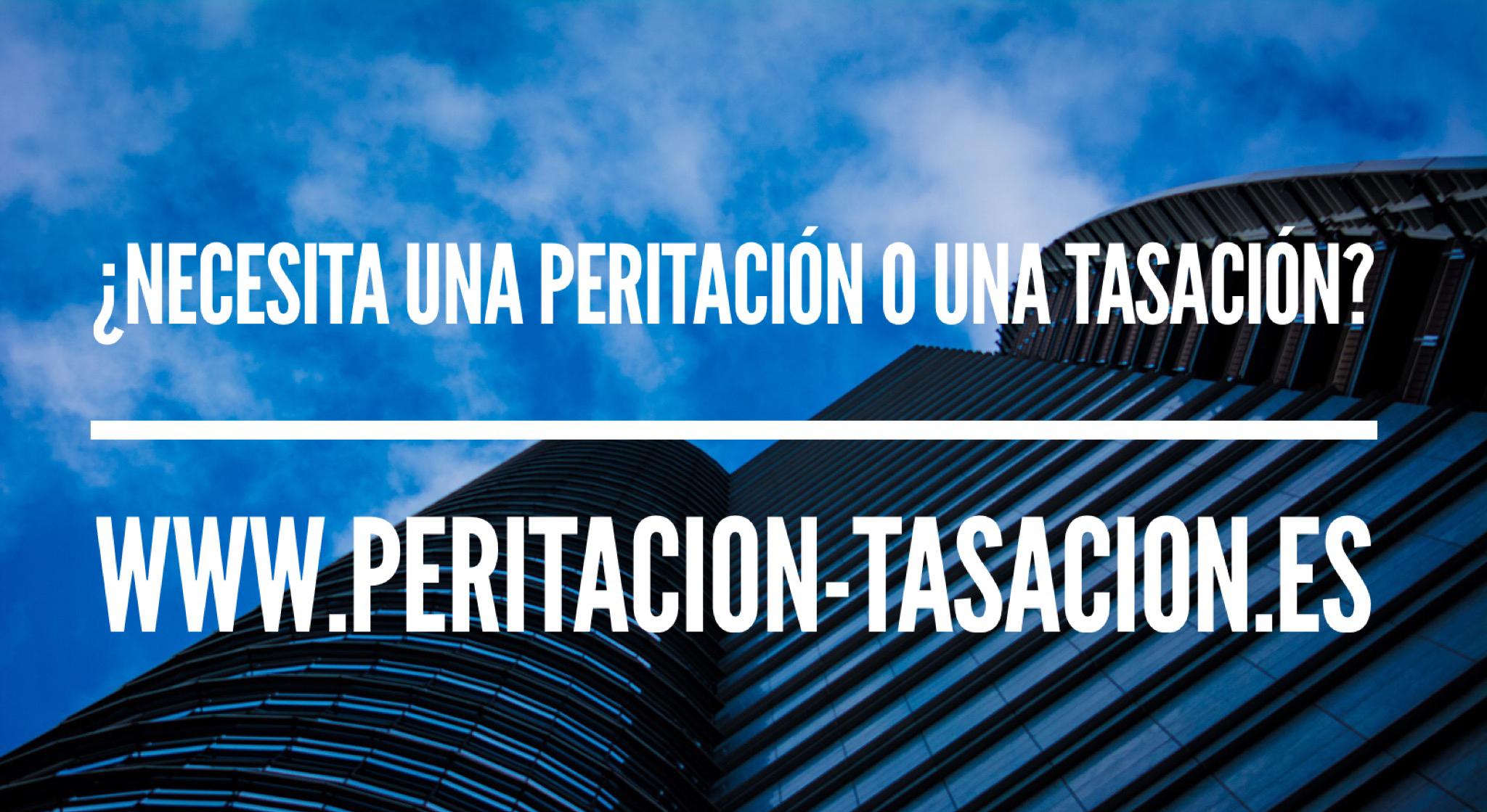 INAUGURAMOS WWW.PERITACION-TASACION.ES